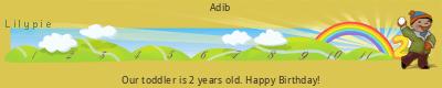 Lilypie Second Birthday (3lSo)