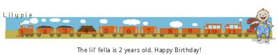 Lilypie Second Birthday (6jz3)