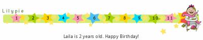 Lilypie Second Birthday (Cc8P)