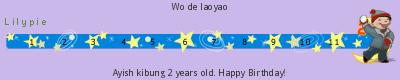 Lilypie Second Birthday (EpYG)
