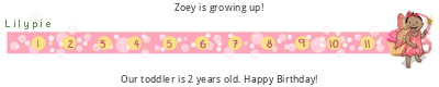 Lilypie Second Birthday tickers