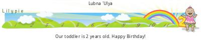 Lilypie Second Birthday (ND1B)