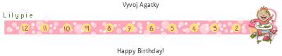 Odpočet do narozenin
