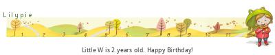 Lilypie Second Birthday (Rugl)