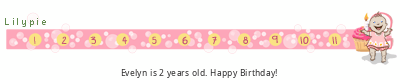 Lilypie Second Birthday (WjGT)