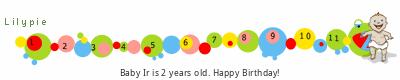 Lilypie Second Birthday (jbo2)