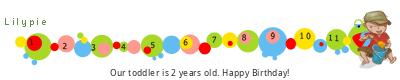 Lilypie Second Birthday (kYy6)