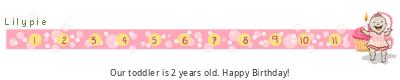 Lilypie Second Birthday (lN8Y)