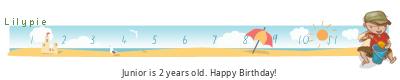 Lilypie Second Birthday (myZx)