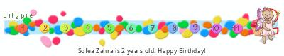 Lilypie Second Birthday (nNET)