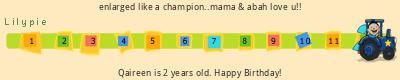 Lilypie Second Birthday (um2s)
